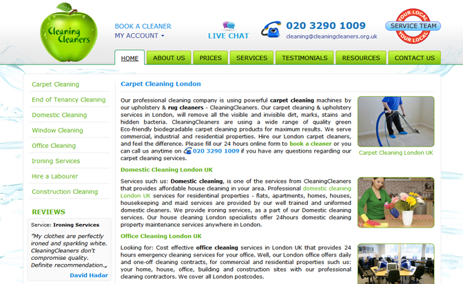 CleaningCleaners.org.uk