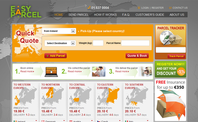 EasyParcel.ie