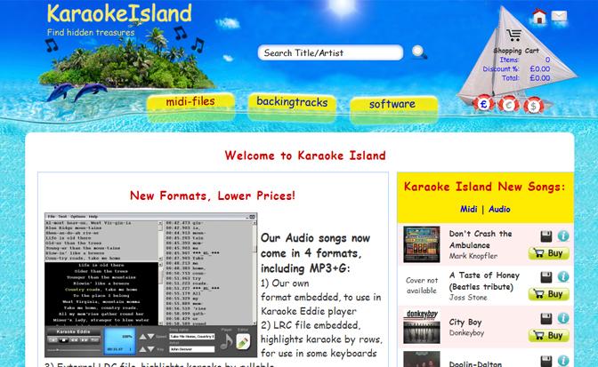 KaraokeIsland.com