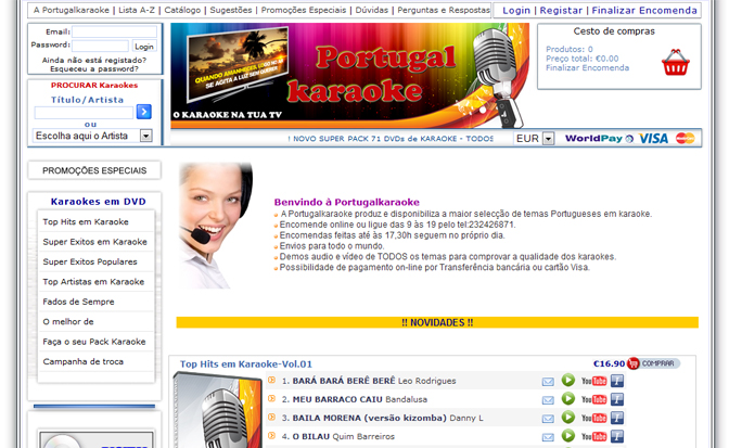 PortugalKaraoke.com
