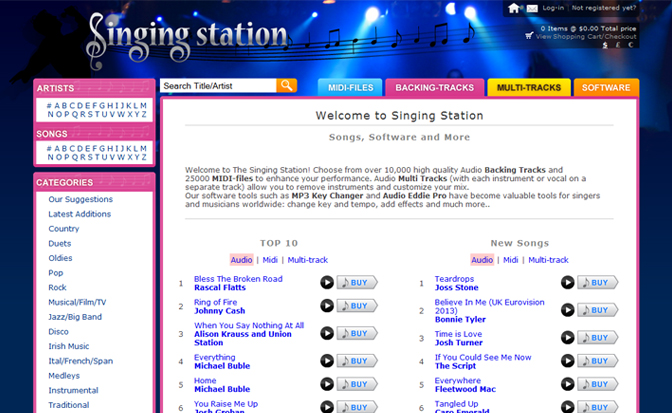 SingingStation.com